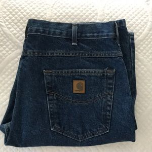 Carhartt traditional fit blue jeans NWOT